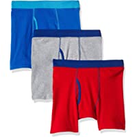 Hanes Boys' 3-Pack ComfortSoft Dyed Boxer Brief