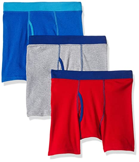 04a76c3c0bbb Hanes Boys' 3-Pack ComfortSoft Dyed Boxer Brief: Amazon.ca: Clothing ...