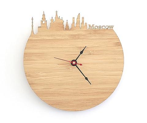 Moscow Skyline Clock