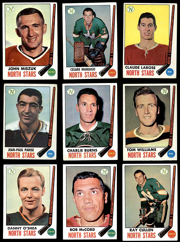 1969-70 Topps Minnesota North Stars Near Team Set Minnesota North Stars (Baseball Set) Dean's Cards 4 - VG/EX North Stars 91cmBzVecHLSL1500_