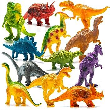 Dinosaurios De Juguete De Aspecto Realista Prextex 18cm Pack Variado De 12 Figuras Grandes De Dinosaurio De Plastico Amazon Es Juguetes Y Juegos Echa un vistazo a nuestros dinosaurios de juguete grandes en oferta. dinosaurios de juguete de aspecto realista prextex 18cm pack variado de 12 figuras grandes de dinosaurio de plastico