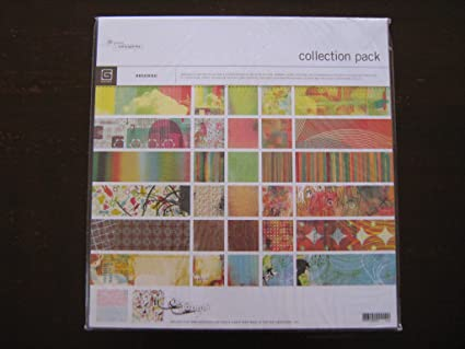 Amazon Basic Grey Obscure Collection Pack 12x12 Scrapbook