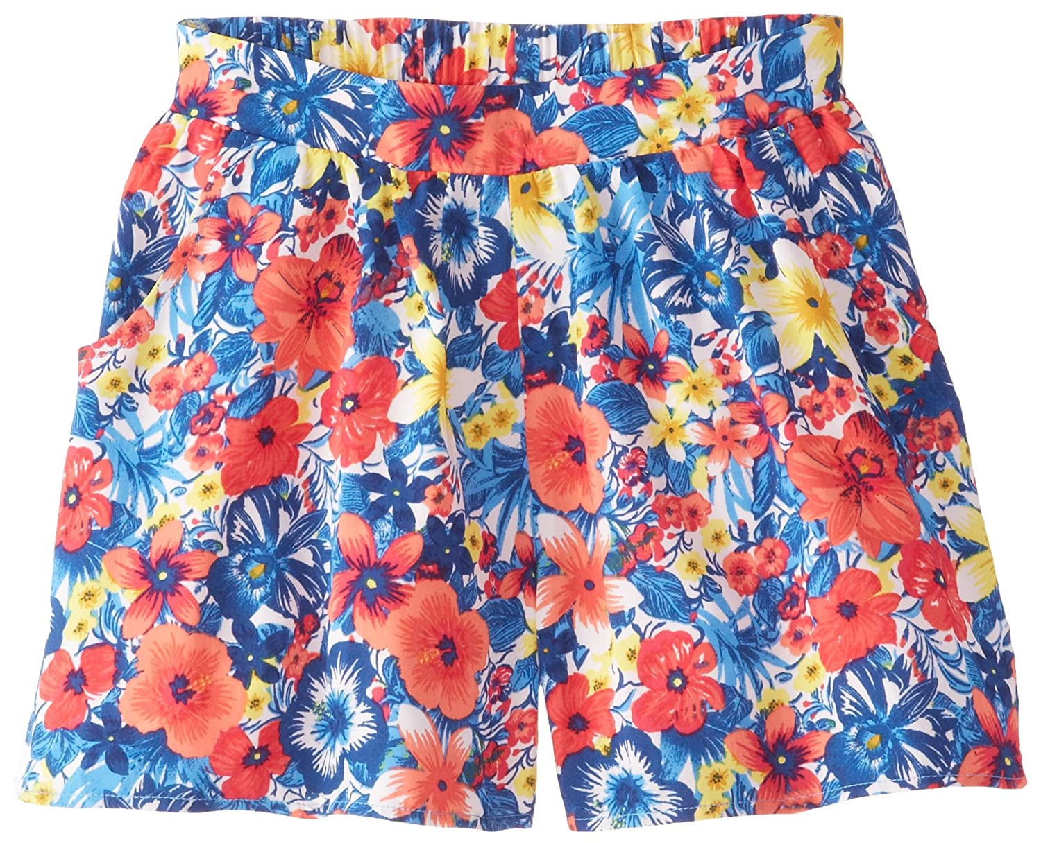 Speechless Big Girls Floral-Print Short Speechless Girls 7-16 Z2212D01GKJK