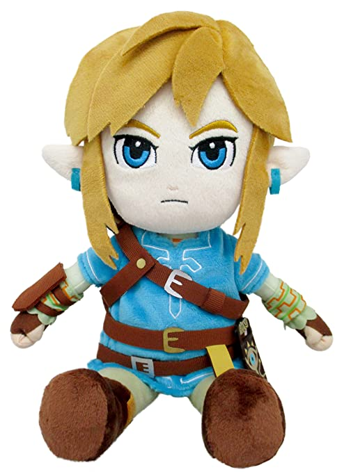 The Legend of Zelda Breath Of The Wild ZP01 BOTW Link (S) Peluche Plush