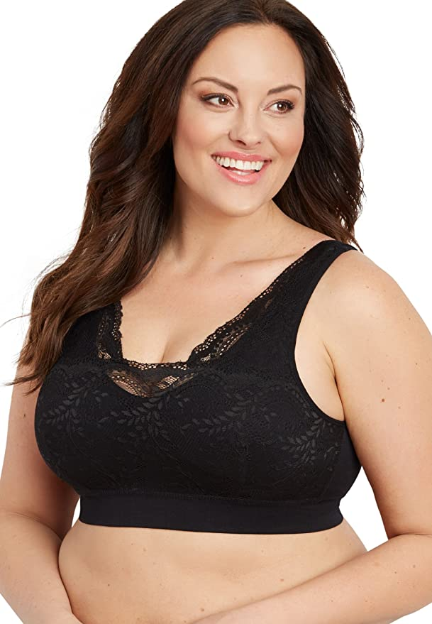 4b488a520f maurices Women s Plus Size Lace Overlay Bralette at Amazon Women s Clothing  store