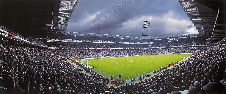 Bremen Stadion Panorama - Poster 240 x 100 cm - hochwertiger FineArtPrint