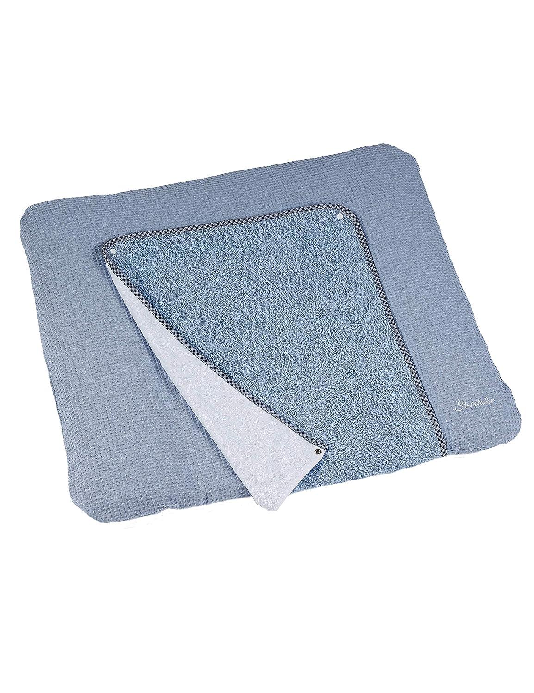 Blau 80 x 90 cm Sterntaler Wickelauflagenbezug Baylee Blue