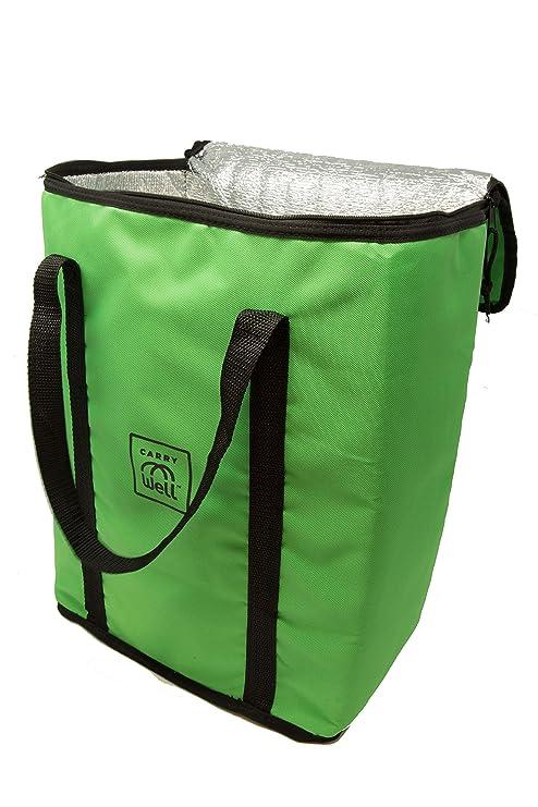 d9bd72a4a4c7 Amazon.com: Reusable Insulated Bag. Premium Freezer Tote Bag- keep ...