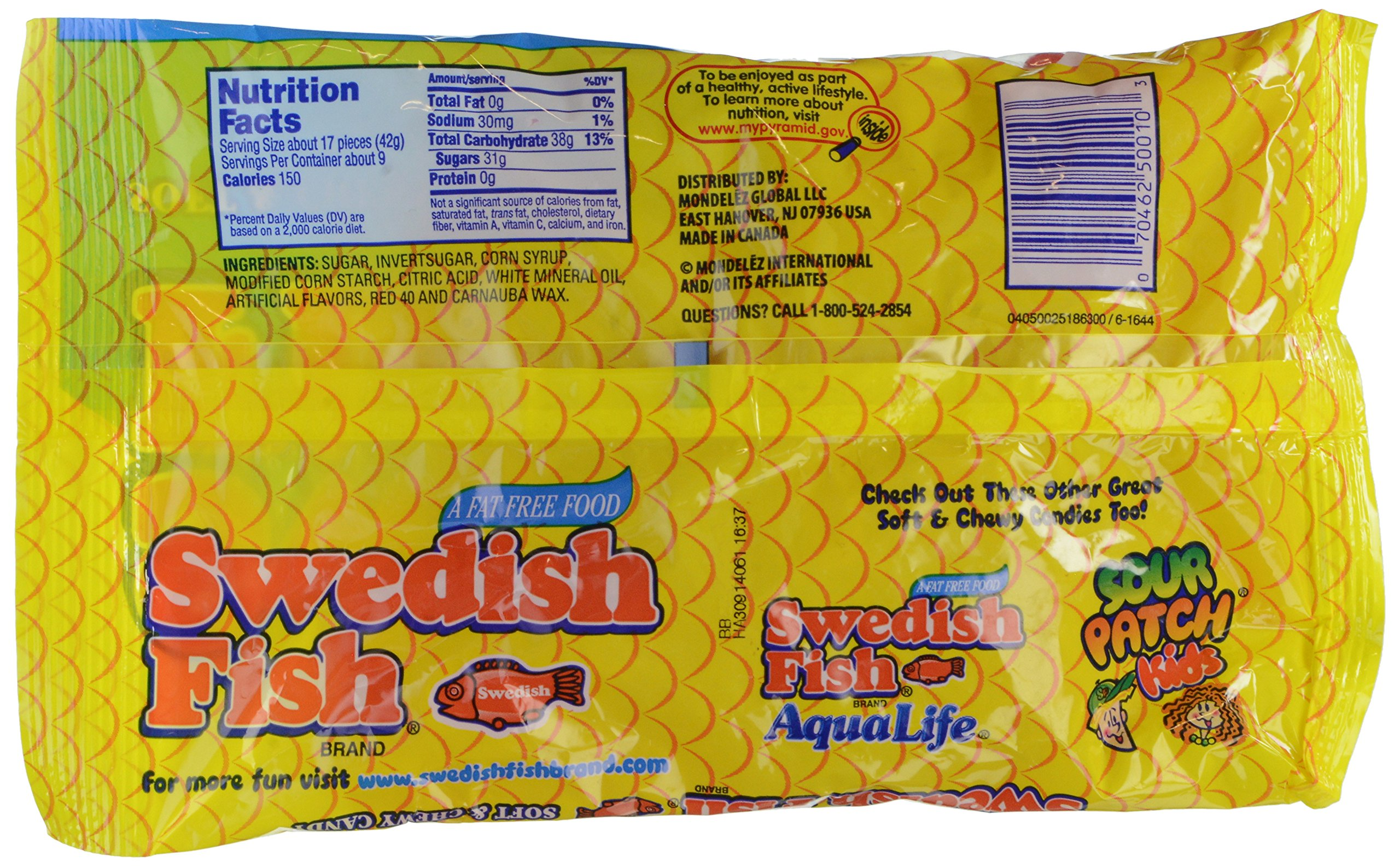 Swedish fish mini soft chewy candy original 14 ounce for Swedish fish amazon