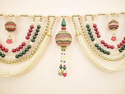 Buy Jay Maharaj Home Decor Traditional Multi Zula Pearl Beads