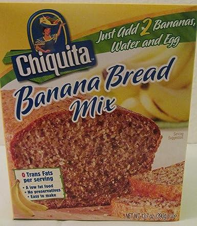 Amazon Com Banana Bread Mix 2 13 7 Oz Boxes Grocery