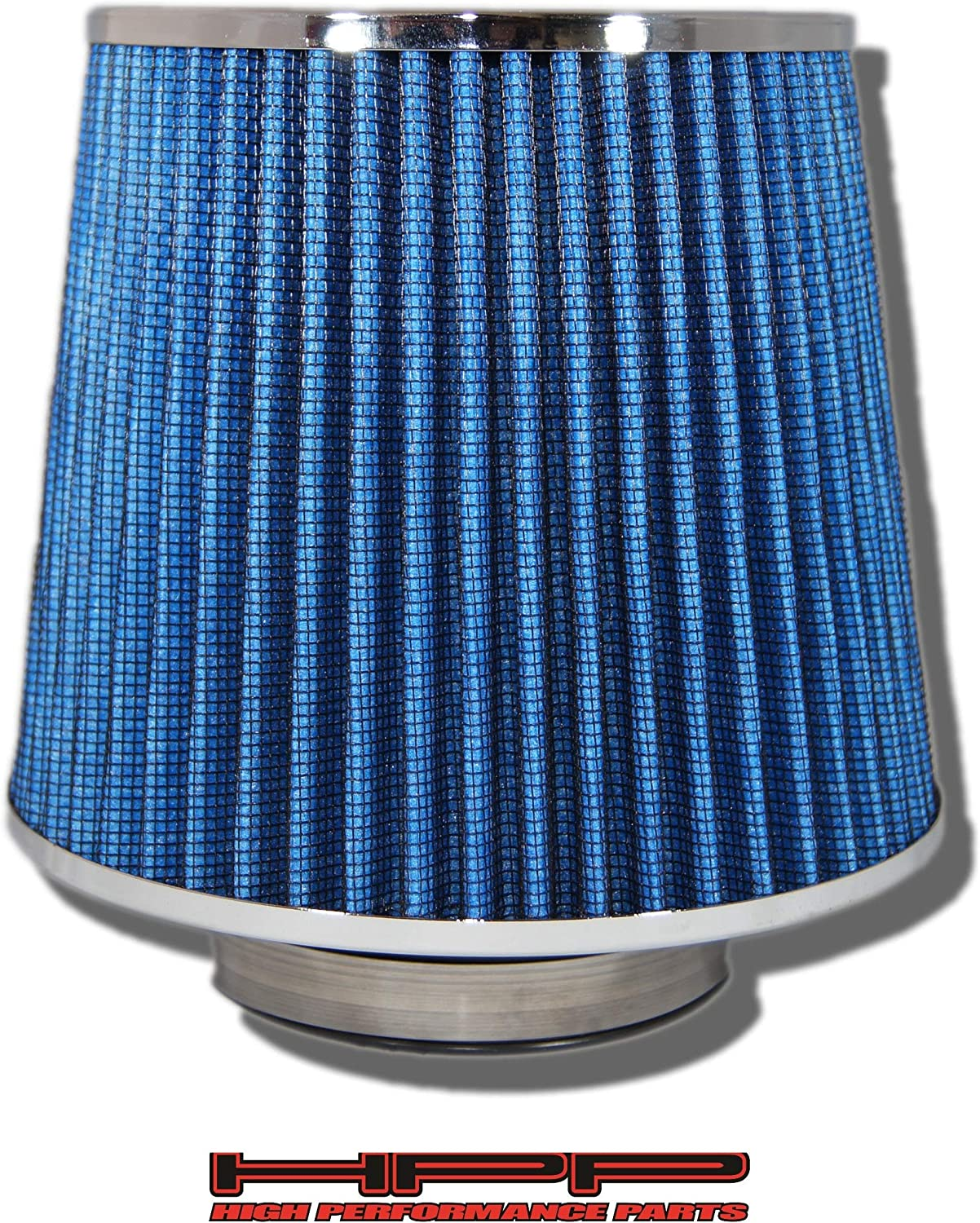 "BLUE 6 Inches 6/"" 152mm Inlet Cold Air Intake Cone TRUCK FILTER Mazda /& Ford"