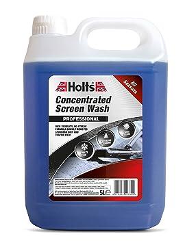 Holts Líquido Concentrado lavaparabrisas, Frasco de 5 litros código Hscw1101a: Amazon.es: Coche y moto