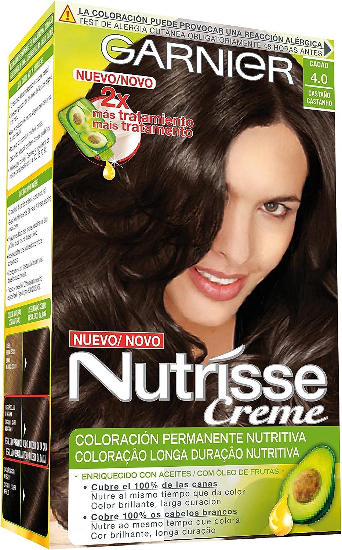 Garnier Nutrisse Coloración, Tono 40 Cacao - 160 ml: Amazon ...