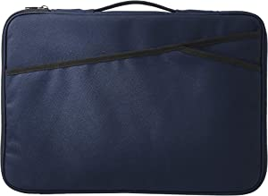 AmazonBasics Laptop Sleeve Case Bag - 17-Inch, Navy