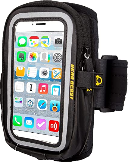 Gear Beast GearWallet LRG Sports Running Armband for Apple iPhone 6s, 6, Galaxy S6