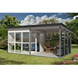 Allwood Solvalla   172 SQF Studio Cabin Kit, Garden House