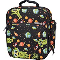 Insulated Durable Lunch Bag - Reusable Meal Tote with Handle and Pockets