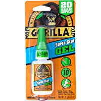 Gorilla Super Glue Gel, 20 g, Clear