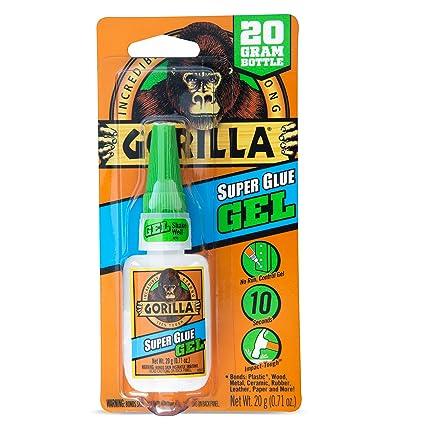 Gorilla 7700104 Super Glue Gel, 20g: Amazon ca: Tools & Home Improvement