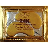 AICHUN BEAUTY 10/20/30/40/100 Pairs Crystal 24K Gold Powder Gel Collagen Eye Mask Sheet Patch, Anti Ageing, Remove Bags…