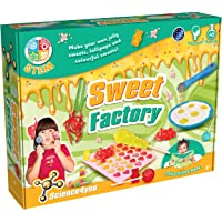 Science4You 399839 Sweet Factory kit Educational Science Toy STEM Toy