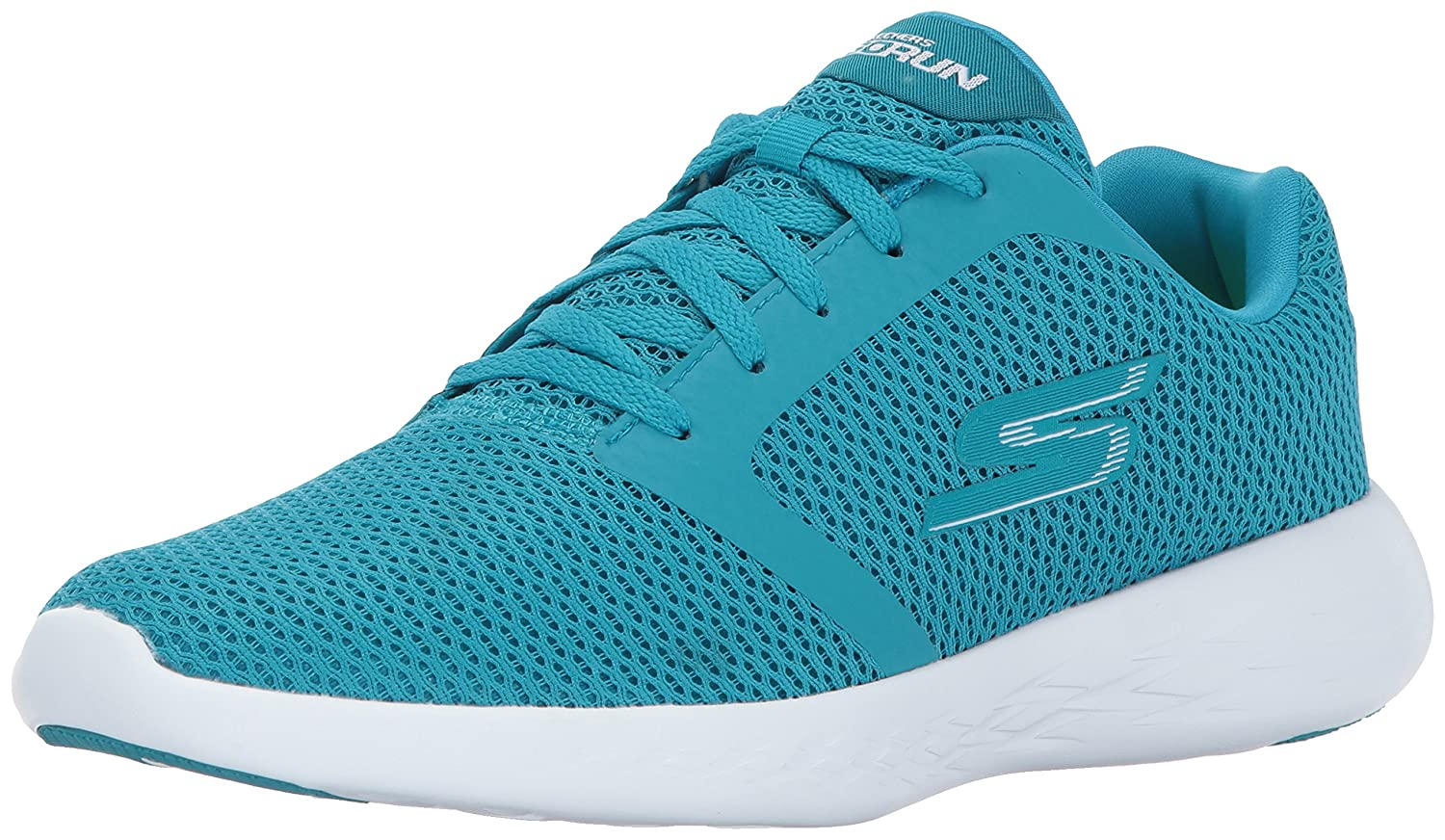 Skechers Women's Go Run 600-15061 Walking Shoe B01MZ9T10W 7.5 B(M) US|Turquoise