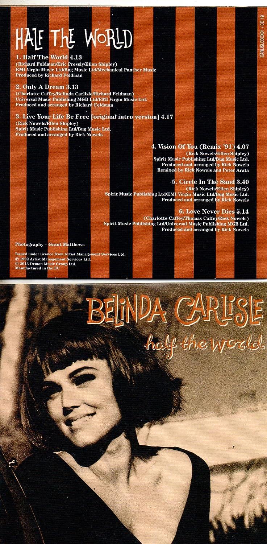 Half The World by Belinda CARLISLE: Amazon co uk: Music