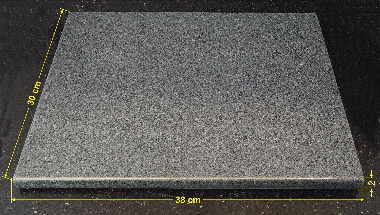 universal pizzastein natrlicher back grillstein aus poliertem granit dadurch sehr leicht zu reinigen l 38x30x2cm amazonde kche haushalt - Kchen Mit Weien Schrnken Und Arbeitsplatten Aus Granit