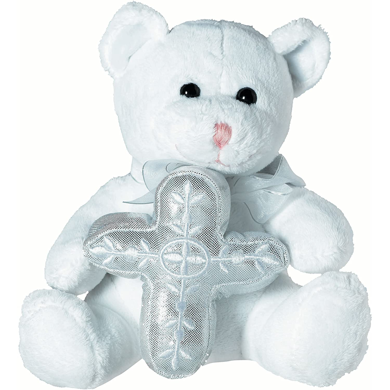 Amscan 453437 Plush Bear 7 White
