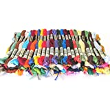 DMC Embroidery Floss Assortment 100 Colors. Genuine Made in France