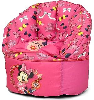 Disney Minnie Mouse Toddler Bean Bag Chair Purple
