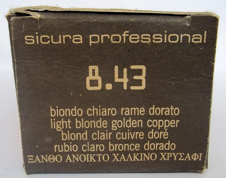 FAIPA Three Color - Tinte profesional 8.43 rubio claro cobre ...