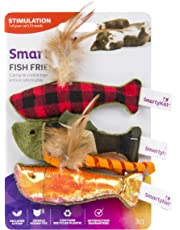 SmartyKat Fish Friends Crinkle and Catnip Cat Toys
