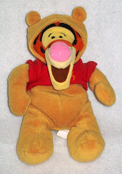 tigger as pooh halloween disney mini bean bag plush by halloween plush