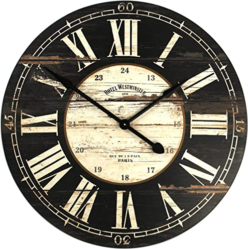 Zentique Wooden Clock