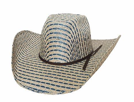 Amazon.com  Bullhide Tyler HARR Tough Draw - (50X) Straw Cowboy Hat ... c6e89536ffd0