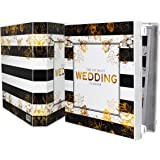 UniKeep Keepsake Wedding Planning Binder Kit Organizer - Ultimate Guide for Planning a Wedding