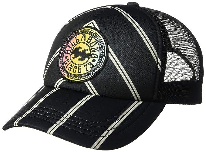 6346ec653 Amazon.com: Billabong Women's Heritage Mashup Trucker Hat Black ...