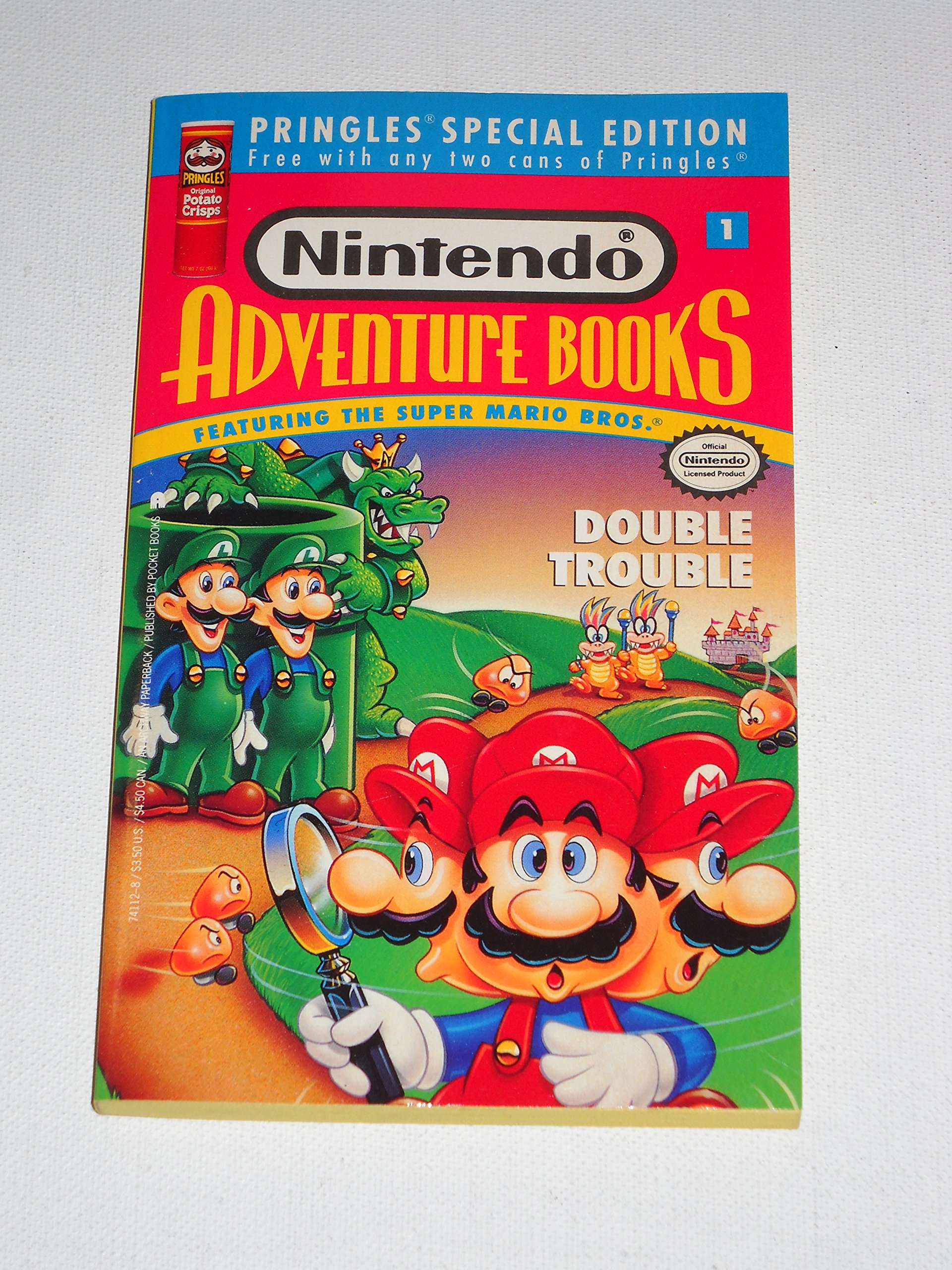 Super Mario Bros: Double Trouble (Nintendo Adventure Books, No. 1): Clyde  Bosco: 9780671741129: Amazon.com: Books