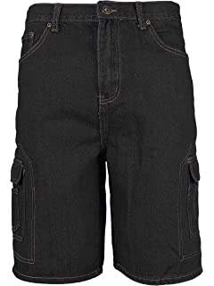 vkwear Mens Tactical Military Army Slim Fit Camo Cargo Shorts with Belt