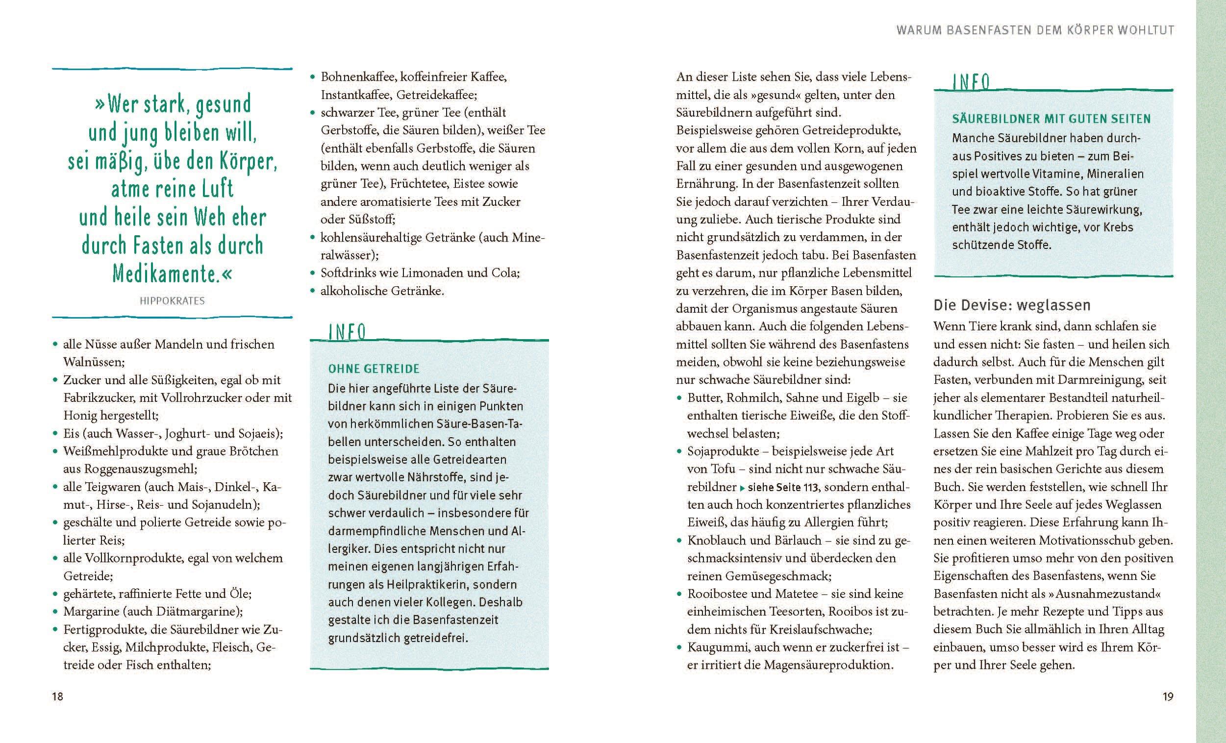 Basenfasten: Essen und trotzdem entlasten: Amazon.de: Sabine Wacker ...
