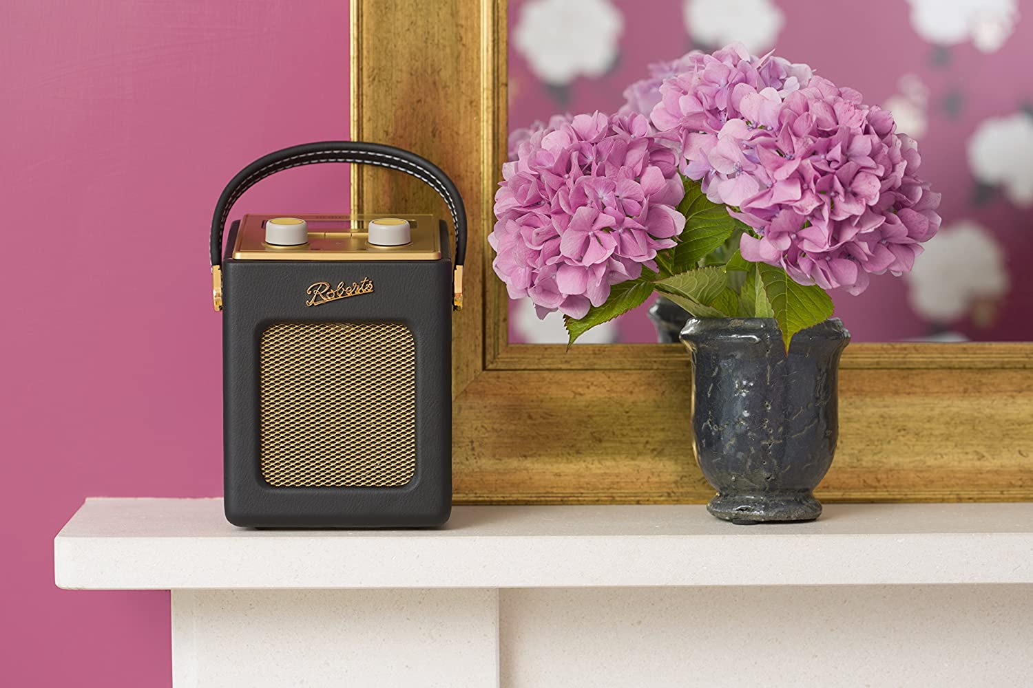 Roberts Radio Revival Mini DAB/DAB+/FM Digital Radio Black