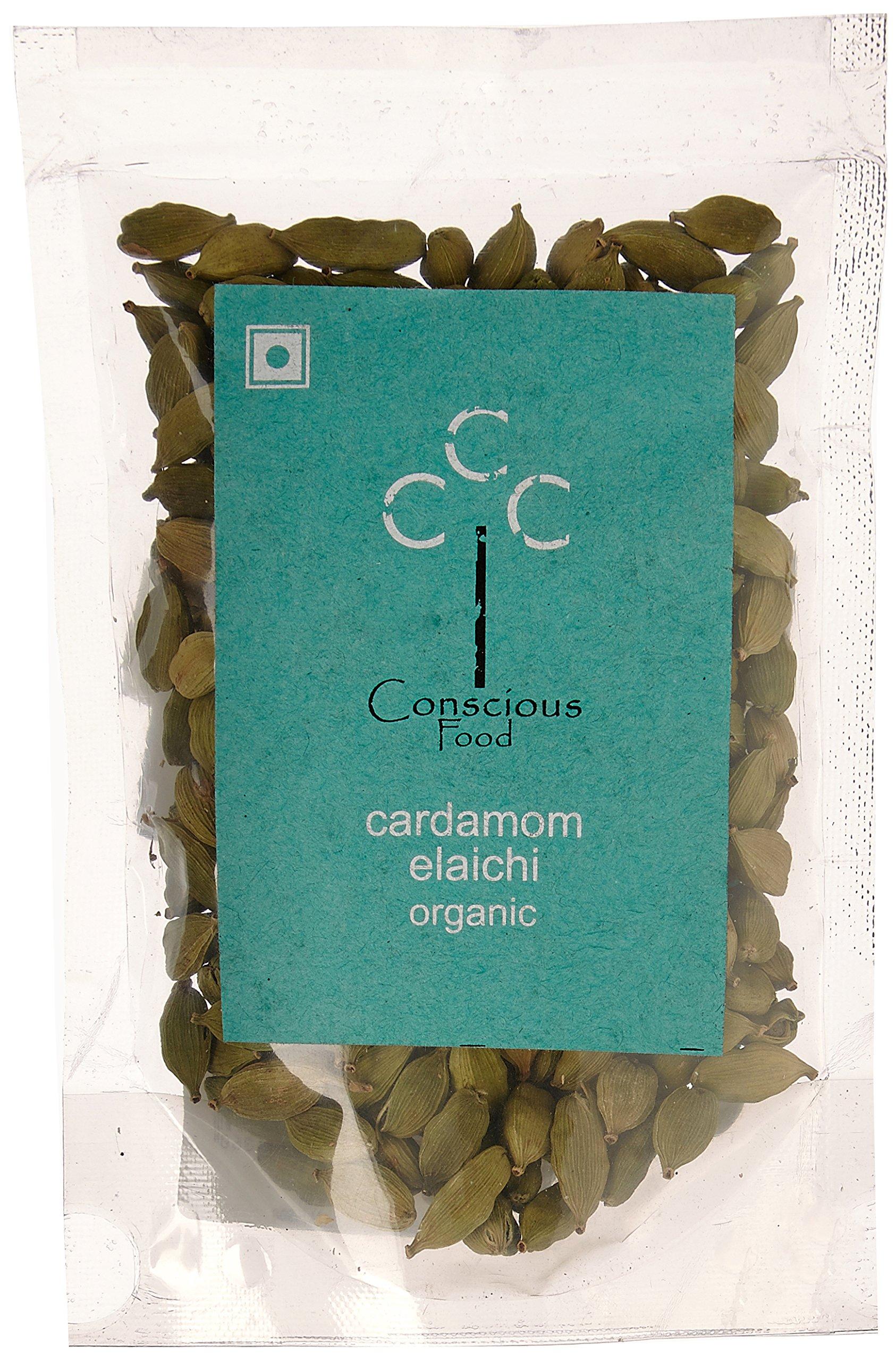 Conscious Food Organic Cardamom-50g