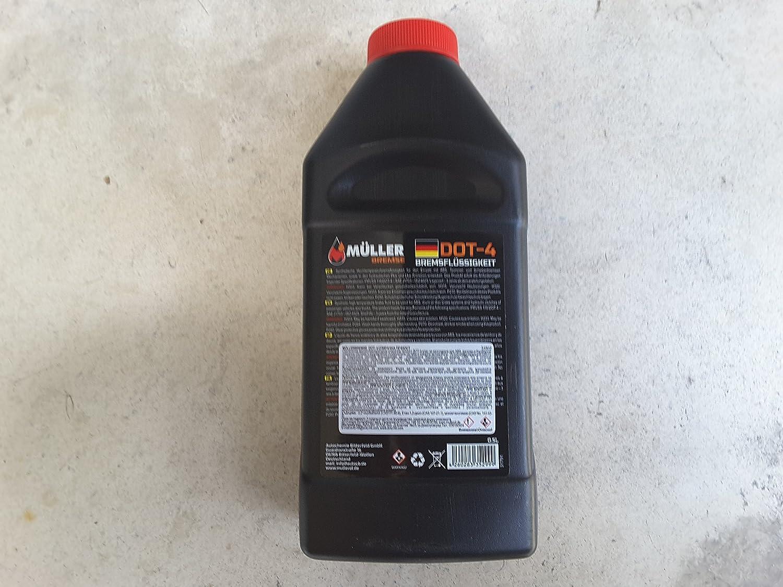 20 x Muller y embrague líquido de frenos DOT 0,5 L): Amazon.es: Coche y moto