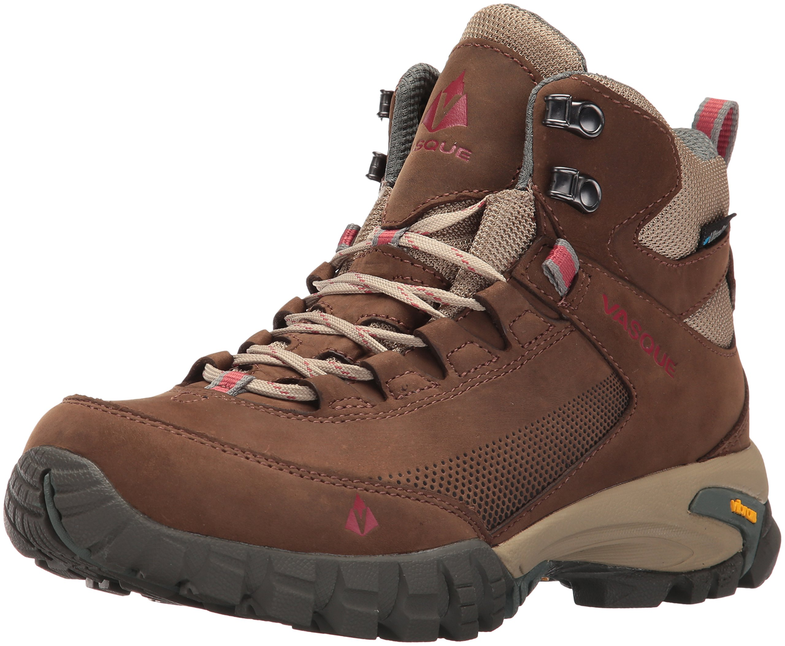 Vasque Women's Talus Trek UltraDry-W Hiking Boot, Slate Brown/Balsam Green, 9 M US by Vasque