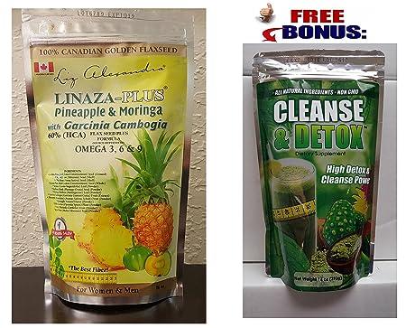 Detoxifing Fiber Flaxseed Formula Linaza Desintoxicante