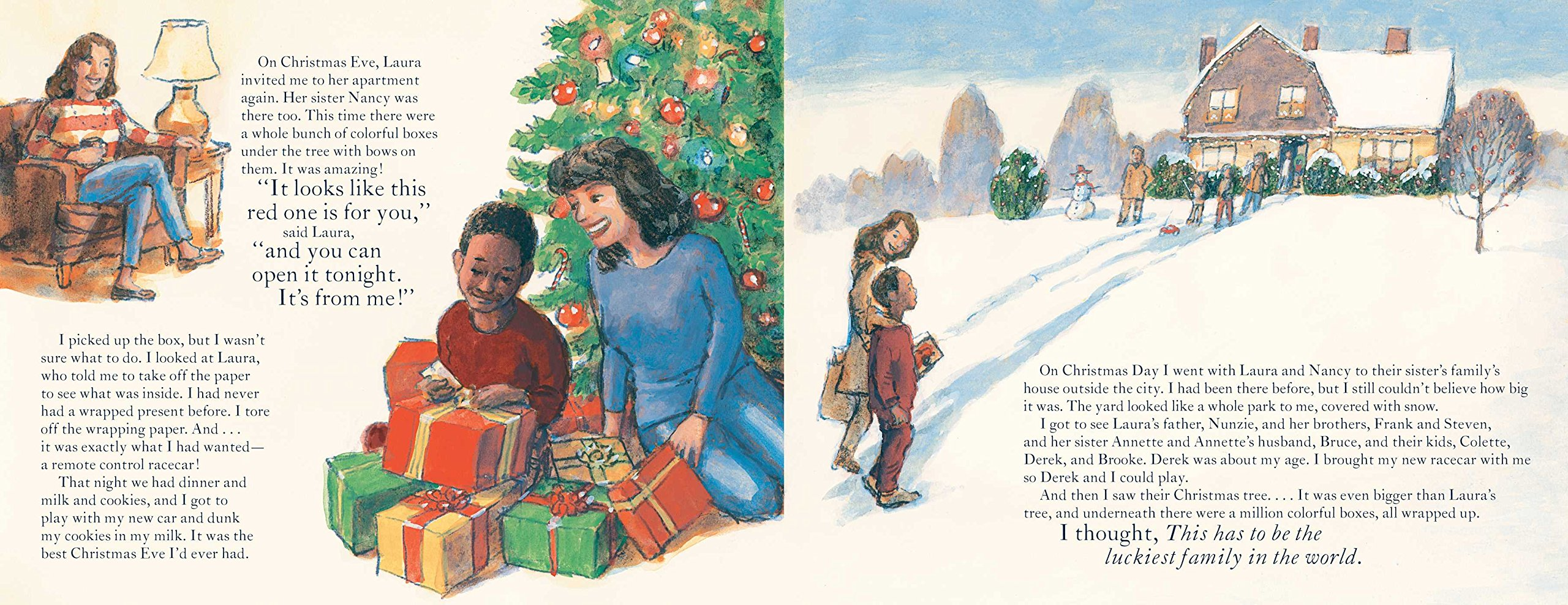 An Invisible Thread Christmas Story: A true story based on the #1 ...