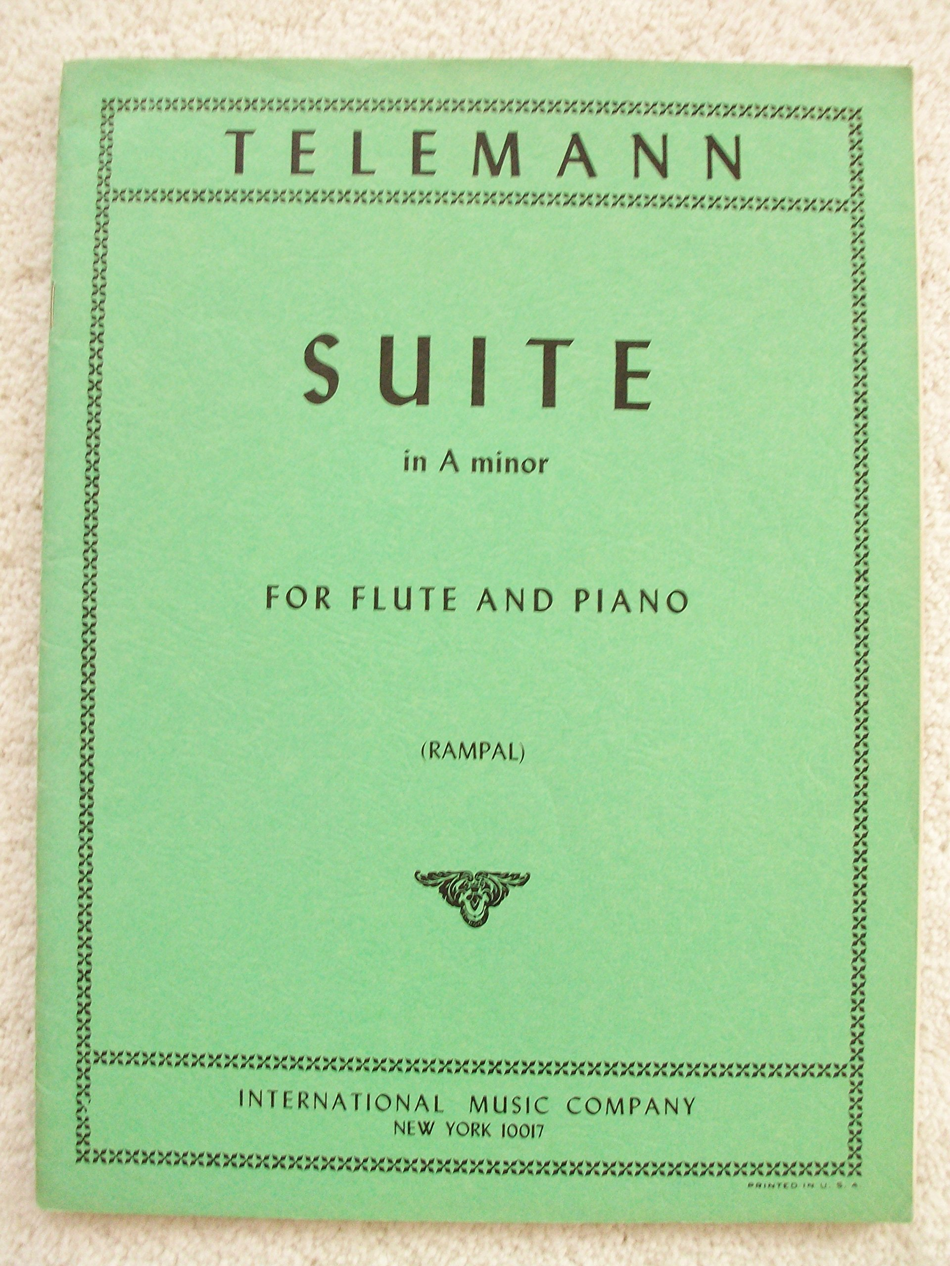 Suite in a Minor Flute