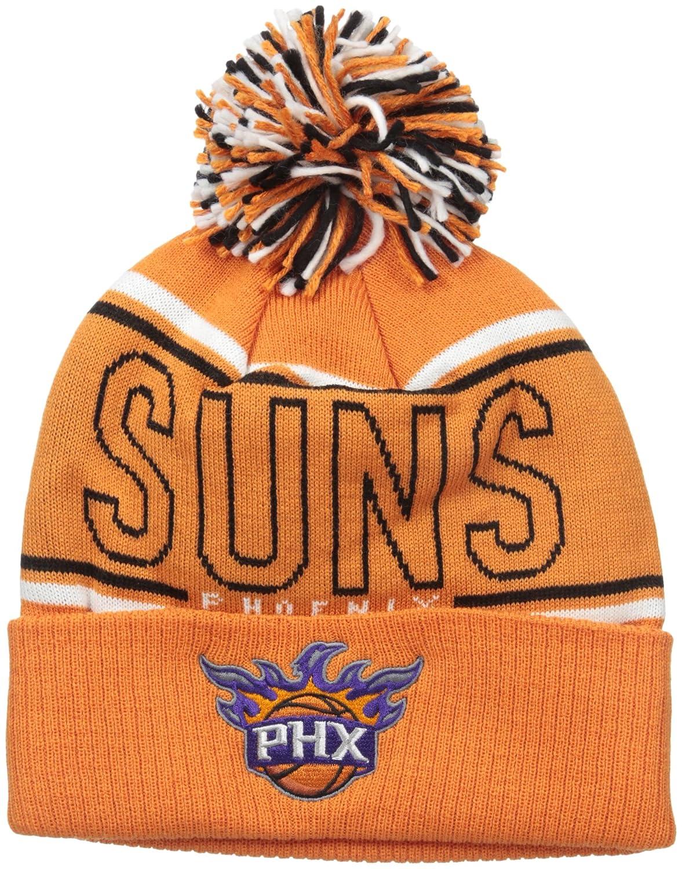 huge selection of ad9fd a69dd NBA Phoenix Suns Men s Energy Stripe Cuffed Knit Pom, One Size, Orange,  Novelty Headwear - Amazon Canada